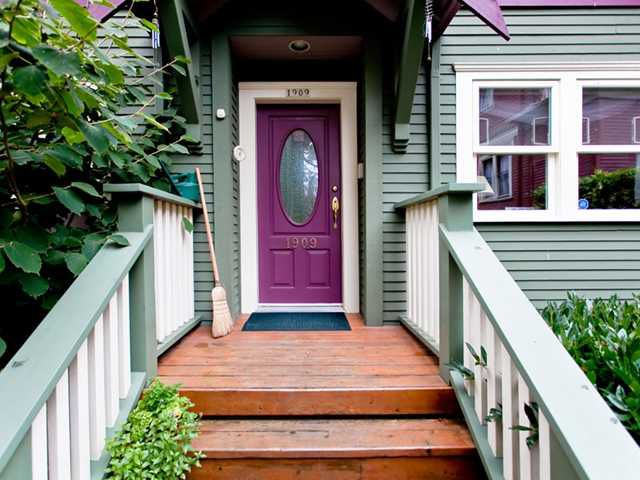 Main Photo: 1909 W 13TH Avenue in Vancouver: Kitsilano House 1/2 Duplex for sale (Vancouver West)  : MLS®# V917057