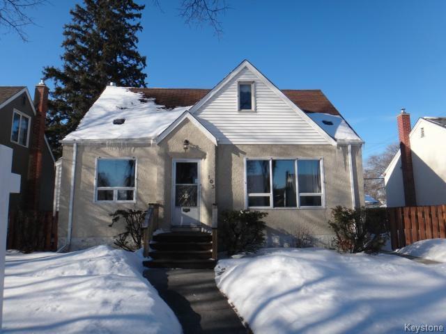 Main Photo: 103 Handyside Avenue in WINNIPEG: St Vital Residential for sale (South East Winnipeg)  : MLS®# 1504217