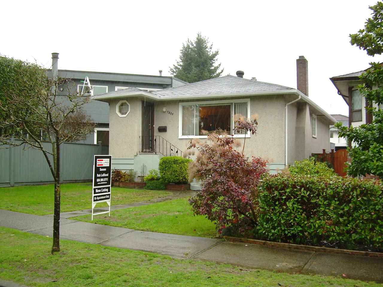 Main Photo: 7226 ONTARIO Street in Vancouver: South Vancouver House for sale (Vancouver East)  : MLS®# R2014198