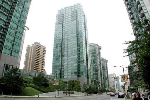 Main Photo: 708 1288 W GEORGIA STREET in : West End VW Condo for sale : MLS®# V293209