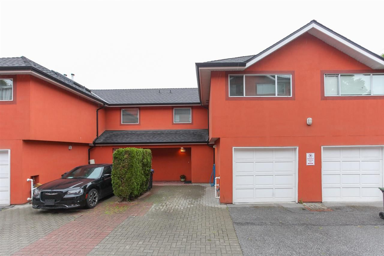 Main Photo: 111 303 CUMBERLAND STREET in New Westminster: Sapperton Townhouse for sale : MLS®# R2179950