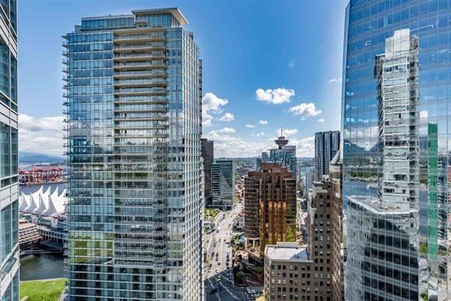"""Main Photo: 3806 1077 W CORDOVA Street in Vancouver: Coal Harbour Condo for sale in """"SHAW TOWER- COAL HARBOUR, WATERFRONT"""" (Vancouver West)  : MLS®# R2235972"""