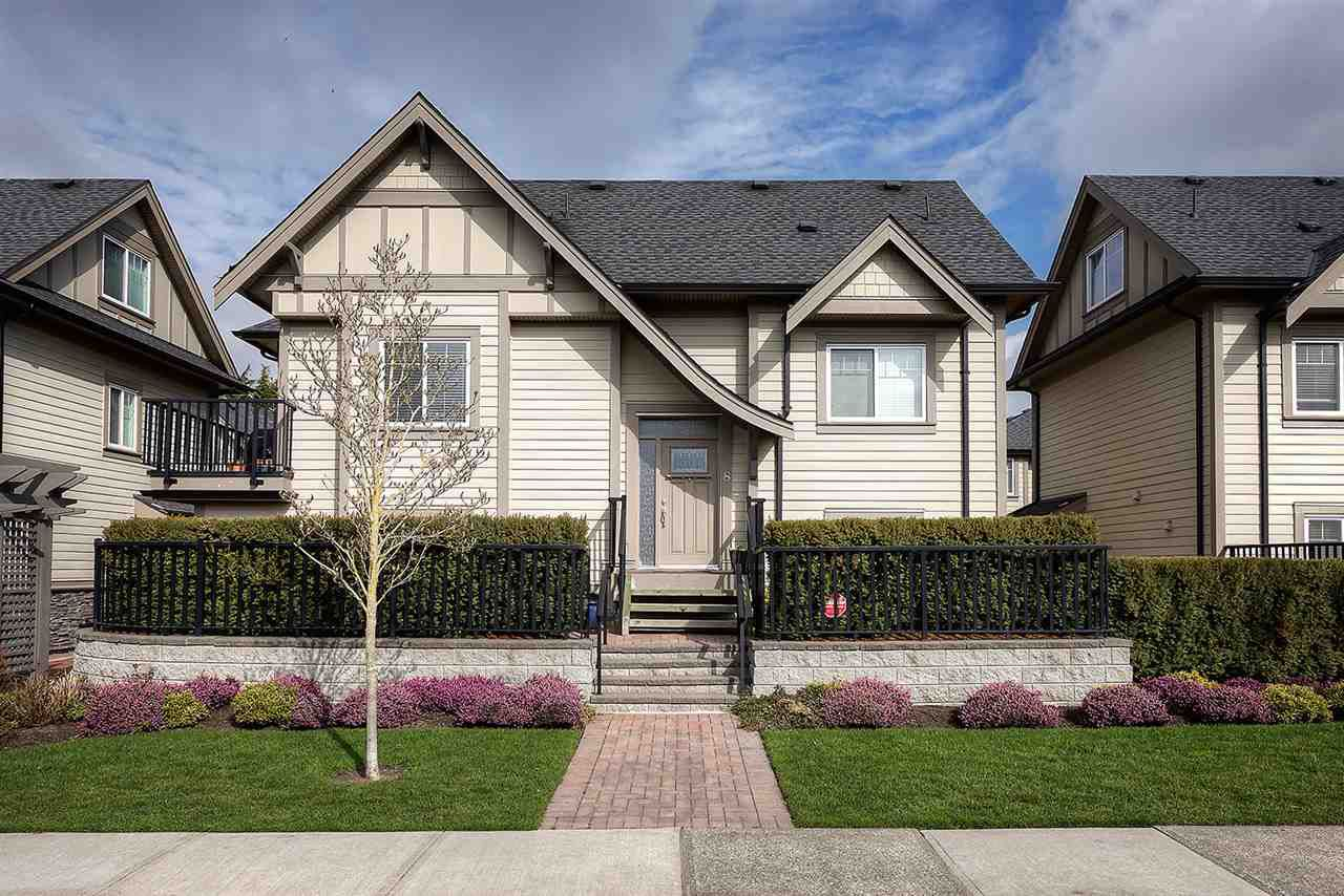 """Main Photo: 8 4728 54A Street in Delta: Delta Manor Townhouse for sale in """"THE MAPLE"""" (Ladner)  : MLS®# R2249086"""