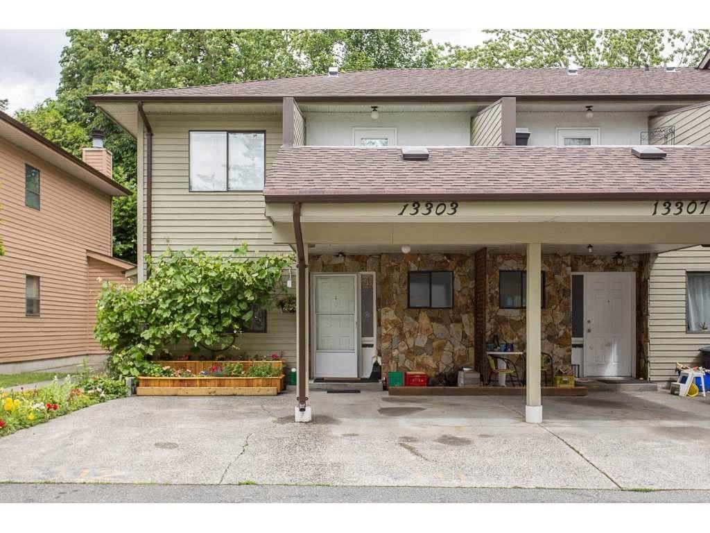 "Main Photo: 13303 71B Avenue in Surrey: West Newton Townhouse for sale in ""SUNCREEK"" : MLS®# R2290030"
