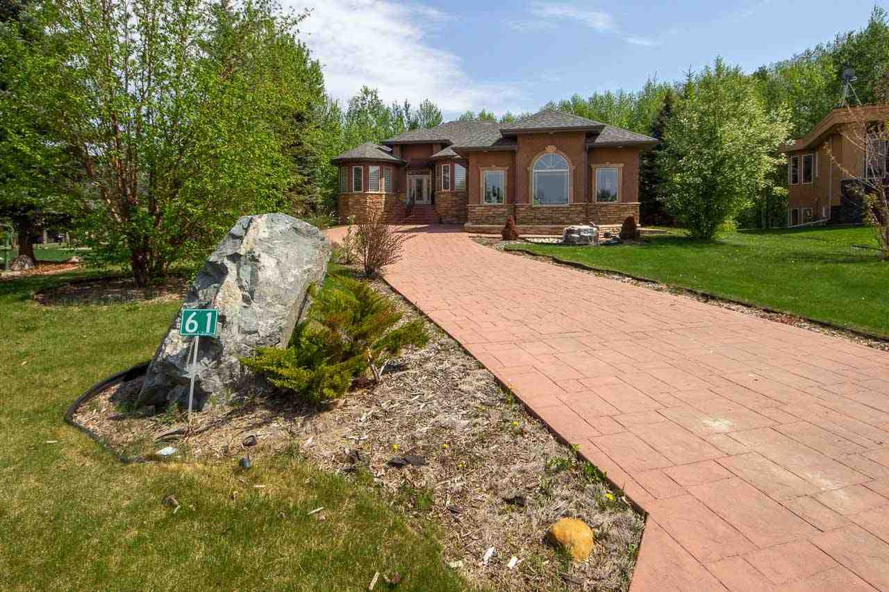Main Photo: 53217 Range road 263 Road: Rural Parkland County House for sale : MLS®# E4138881