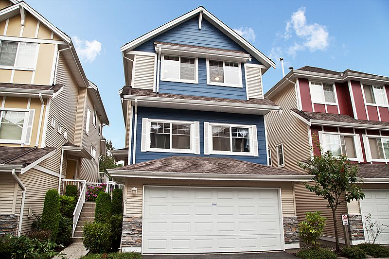 Main Photo: 16 1108 Riverside Close in Port Coquitlam: Riverwood Townhouse for sale : MLS®# v981541