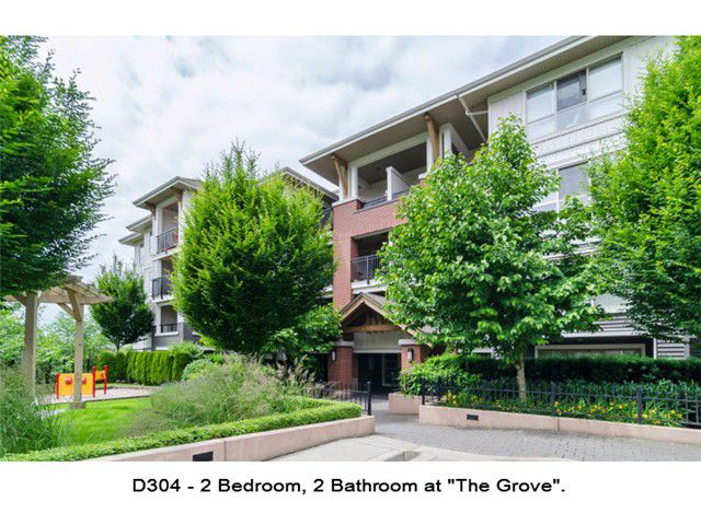 "Main Photo: D304 8929 202ND Street in Langley: Walnut Grove Condo for sale in ""THE GROVE"" : MLS®# F1414965"