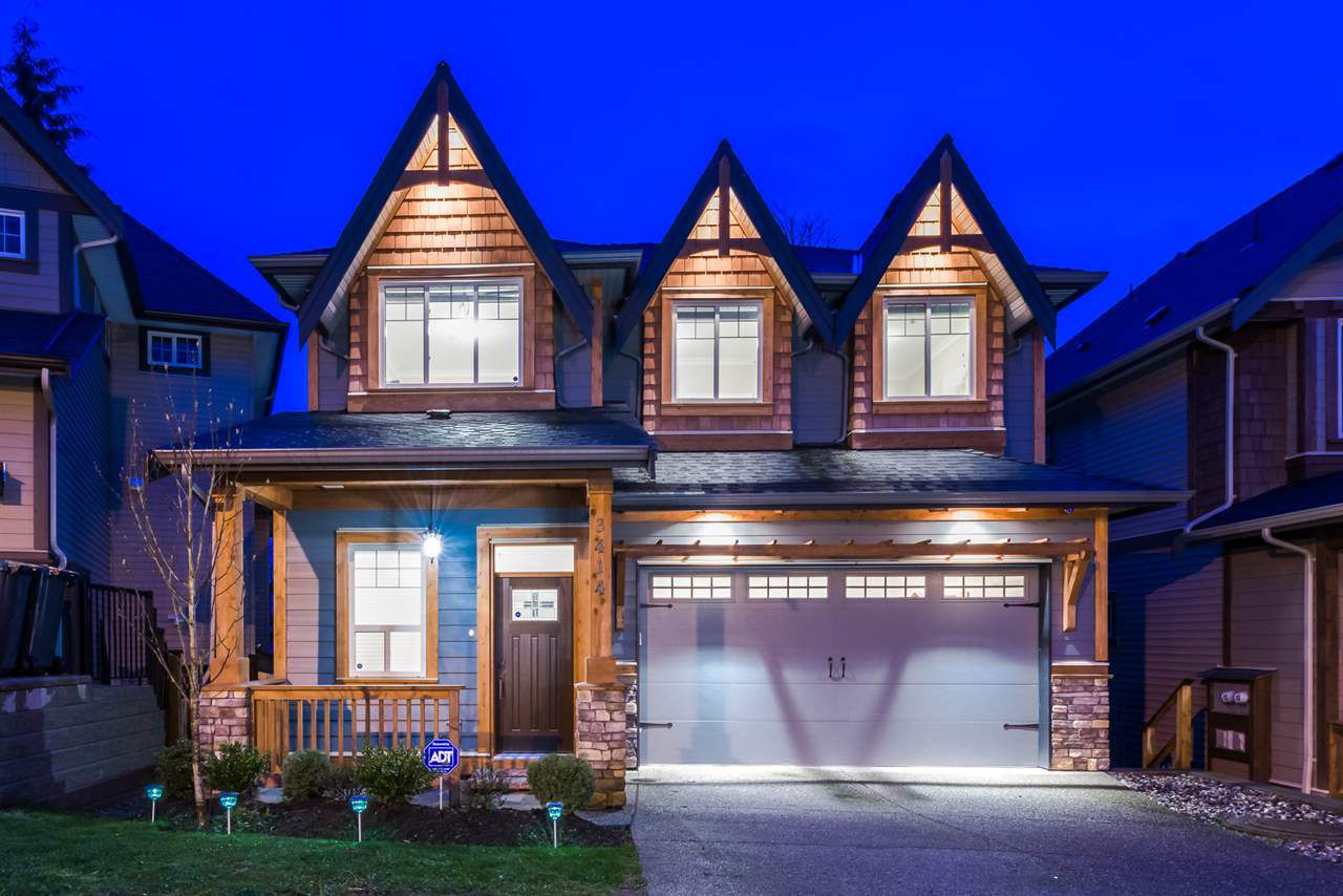 Main Photo: 3414 DEVONSHIRE Avenue in Coquitlam: Burke Mountain House for sale : MLS®# R2051955