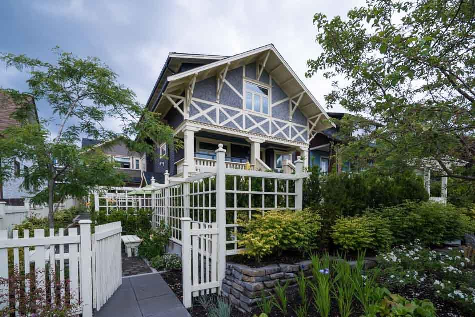 Main Photo: 2437 W 5TH Avenue in Vancouver: Kitsilano House 1/2 Duplex for sale (Vancouver West)  : MLS®# R2081967