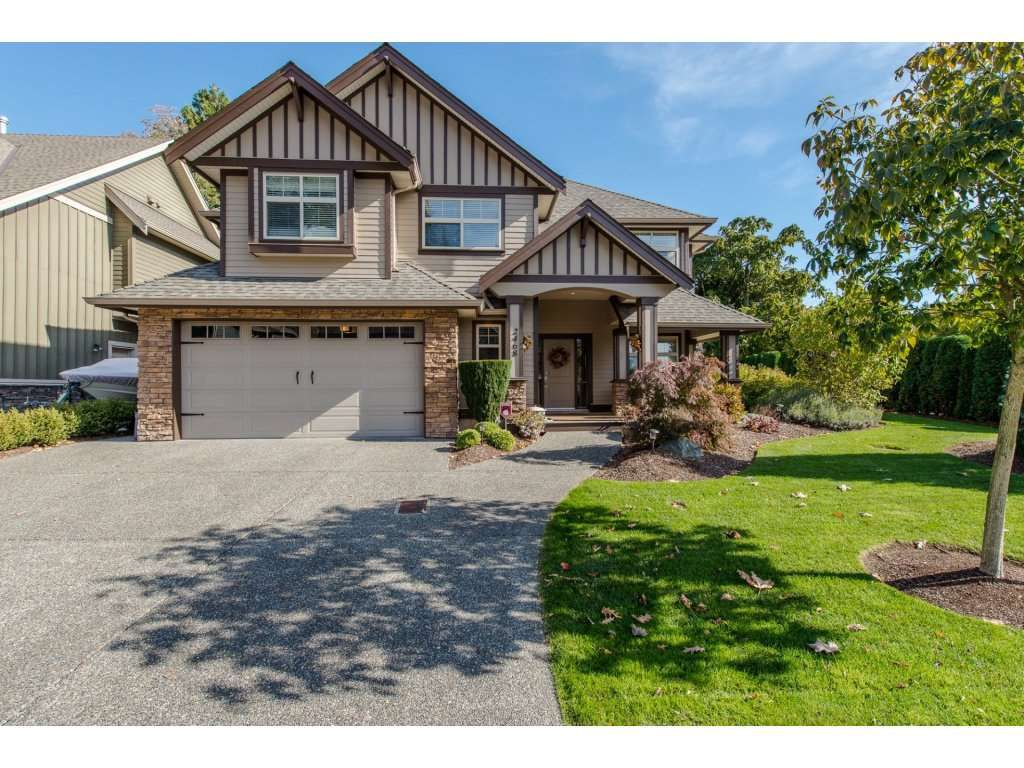 Main Photo: 2468 WOODPARK Place in Abbotsford: Central Abbotsford House for sale : MLS®# R2116105