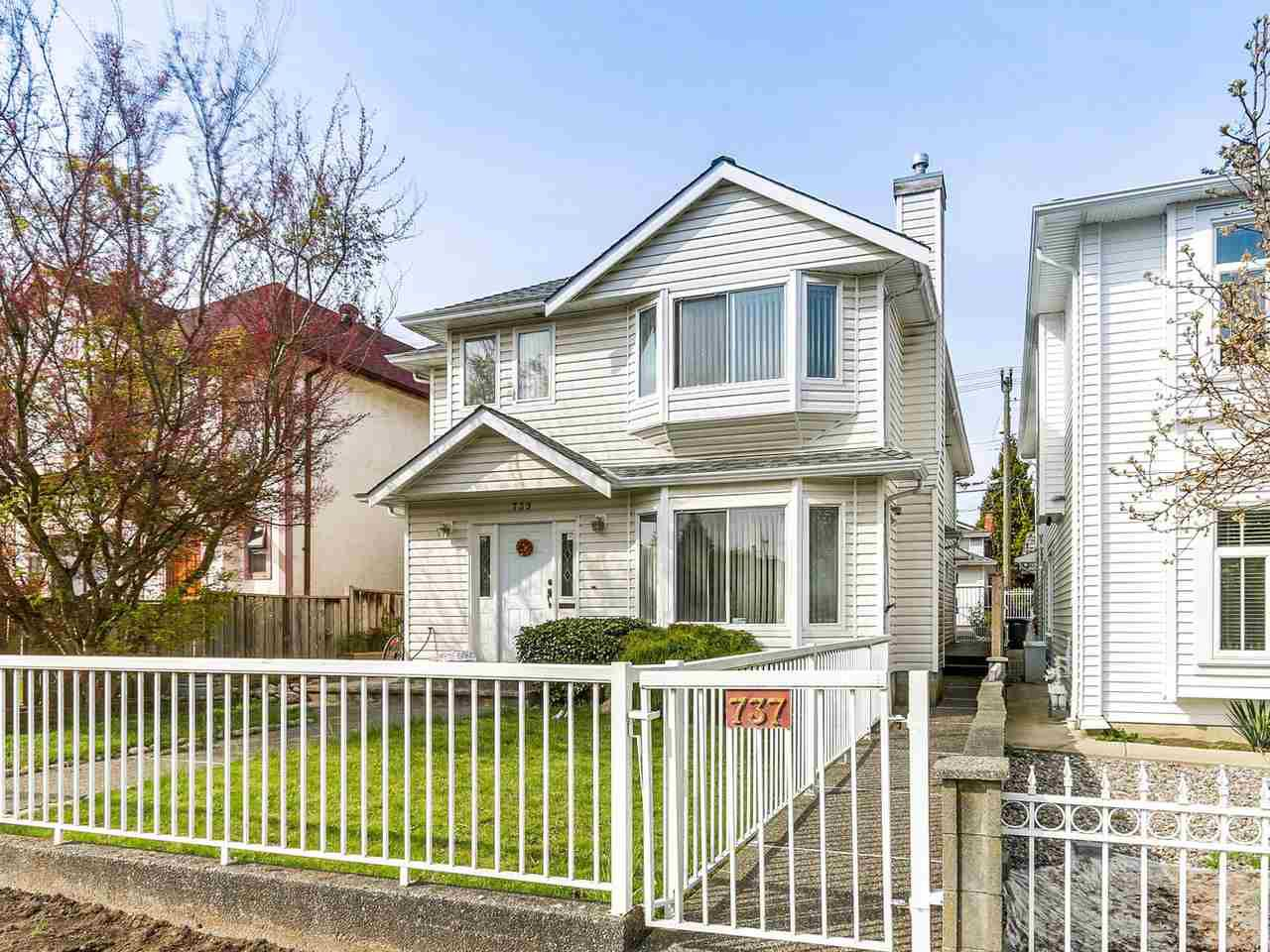 Main Photo: 737 W 69TH Avenue in Vancouver: Marpole House 1/2 Duplex for sale (Vancouver West)  : MLS®# R2156415