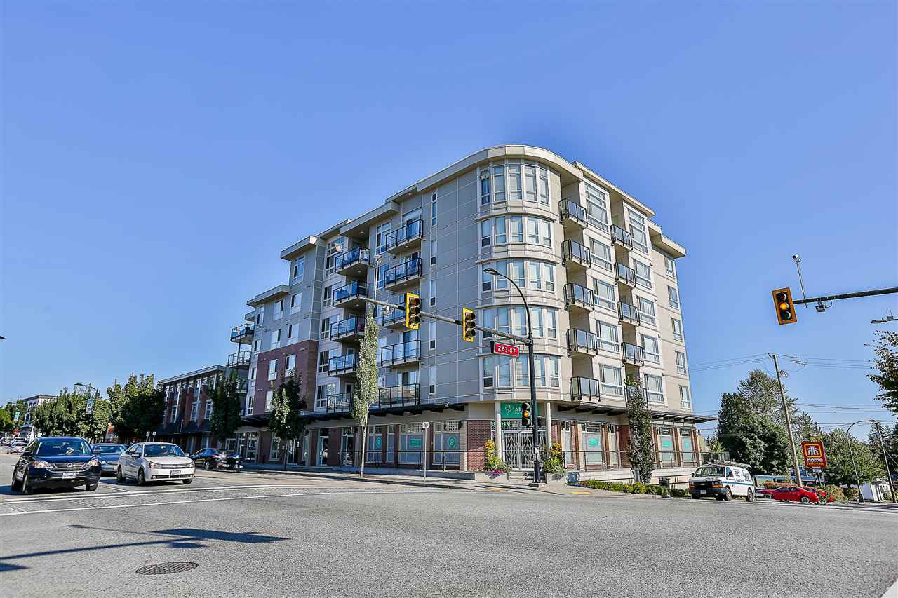 """Main Photo: 602 22318 LOUGHEED Highway in Maple Ridge: West Central Condo for sale in """"223 North"""" : MLS®# R2202948"""