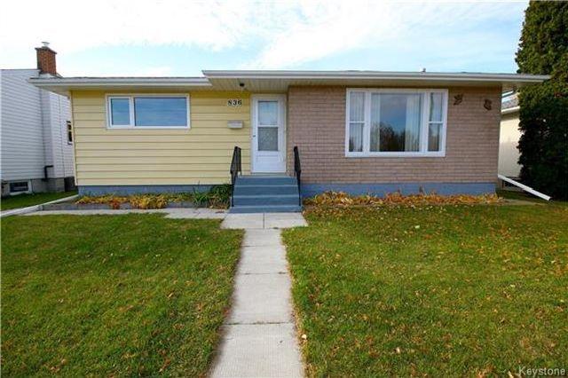 Main Photo: 836 Polson Avenue in Winnipeg: Sinclair Park Residential for sale (4C)  : MLS®# 1727647
