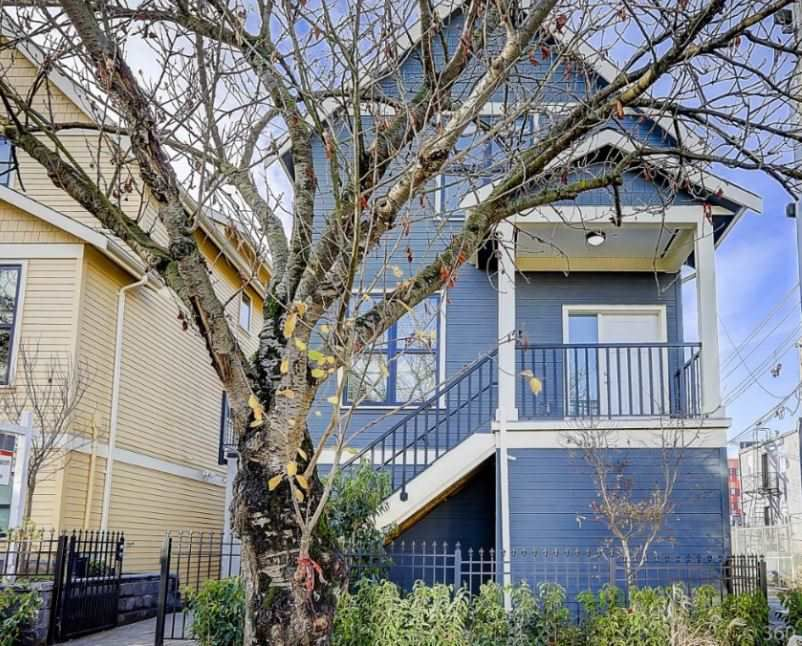 """Main Photo: 431 VERNON Drive in Vancouver: Mount Pleasant VE Townhouse for sale in """"STRATHCONA"""" (Vancouver East)  : MLS®# R2224988"""