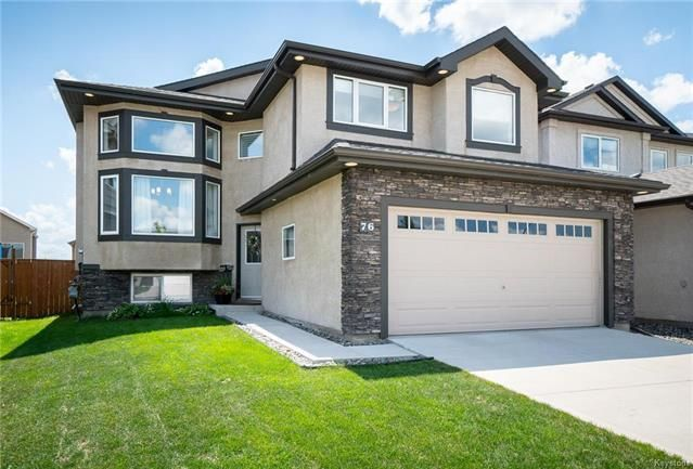 Main Photo: 76 BLUMM Crescent in Winnipeg: Canterbury Park Residential for sale (3M)  : MLS®# 1817459