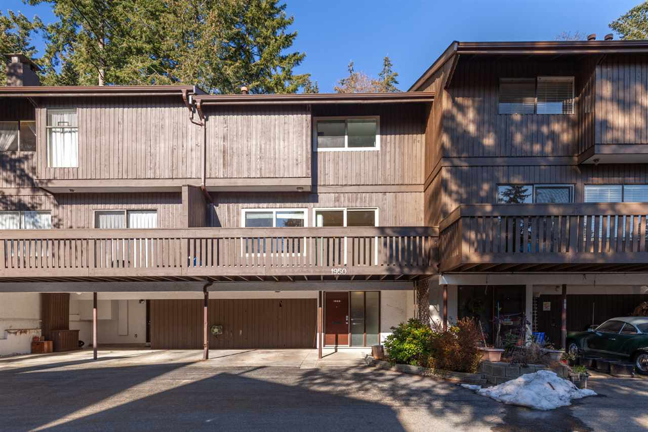 Main Photo: 1950 PURCELL Way in North Vancouver: Lynnmour Townhouse for sale : MLS®# R2347460