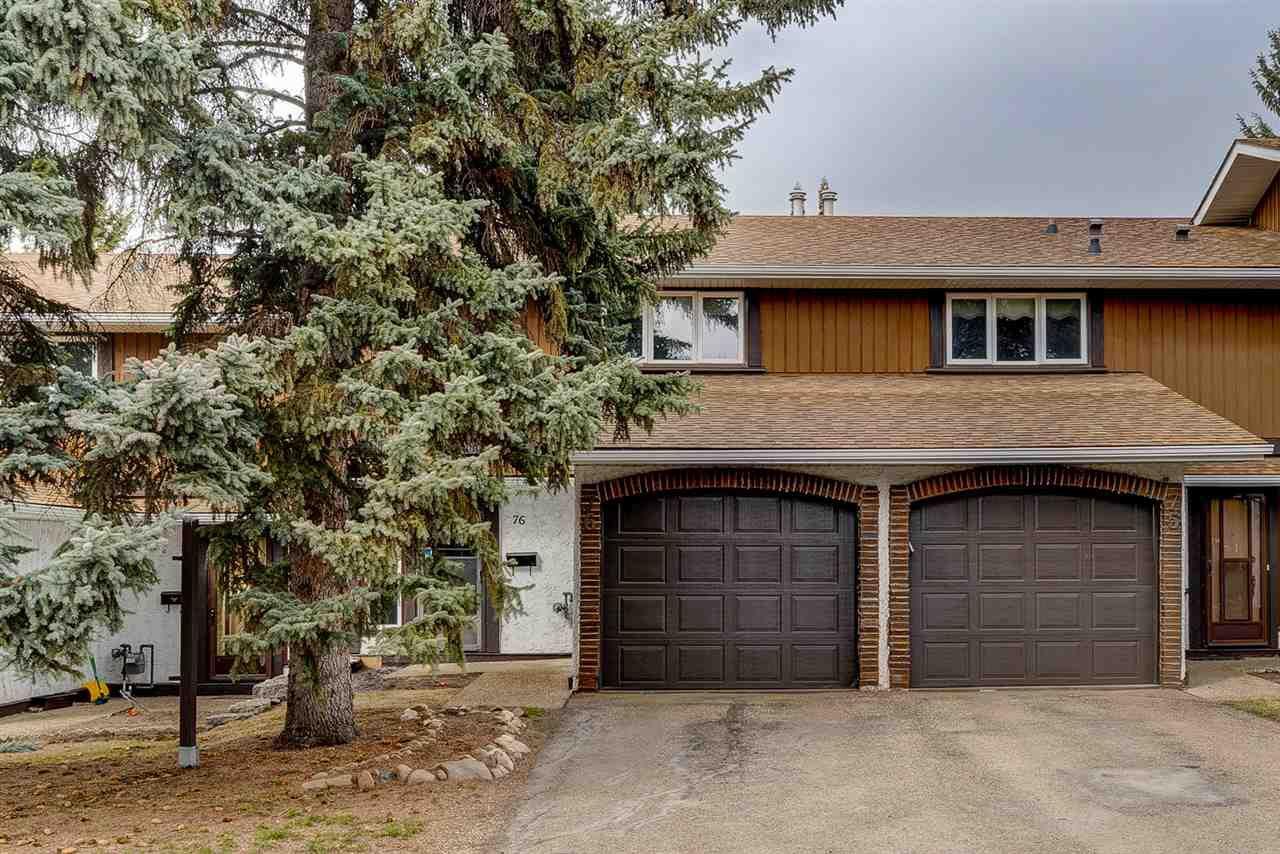Main Photo: 76 HEARTHSTONE Avenue in Edmonton: Zone 14 Townhouse for sale : MLS®# E4153069