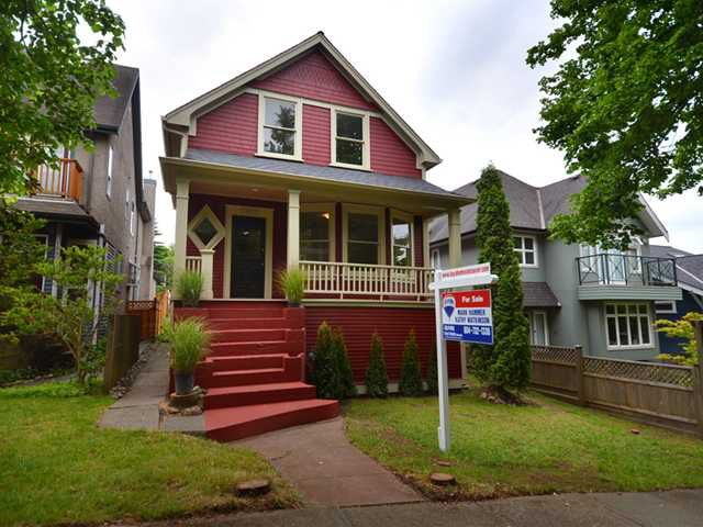"Main Photo: 1962 E 5TH Avenue in Vancouver: Grandview VE House for sale in ""COMMERCIAL DRIVE"" (Vancouver East)  : MLS®# V895689"