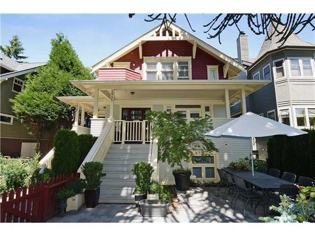 Main Photo: 1955 W 15TH Avenue in Vancouver: Kitsilano Townhouse for sale (Vancouver West)  : MLS®# V1045326