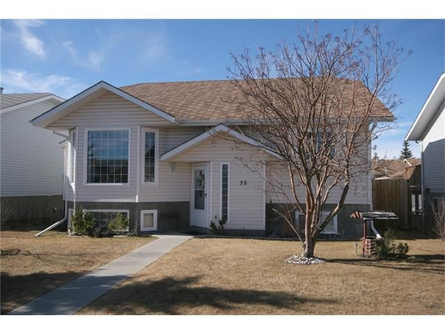 Main Photo: 35 WEST MCDOUGAL Road: Cochrane House for sale : MLS®# C4053037