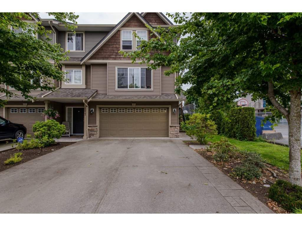 """Main Photo: 8 8825 ELM Drive in Chilliwack: Chilliwack E Young-Yale Townhouse for sale in """"Central Park"""" : MLS®# R2175945"""