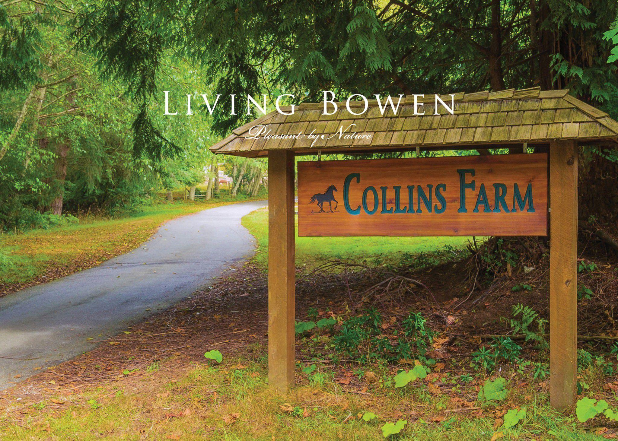 Main Photo: 456 Collins Farm Road in Bowen Island: Collins Farm House for sale : MLS®# R2240881