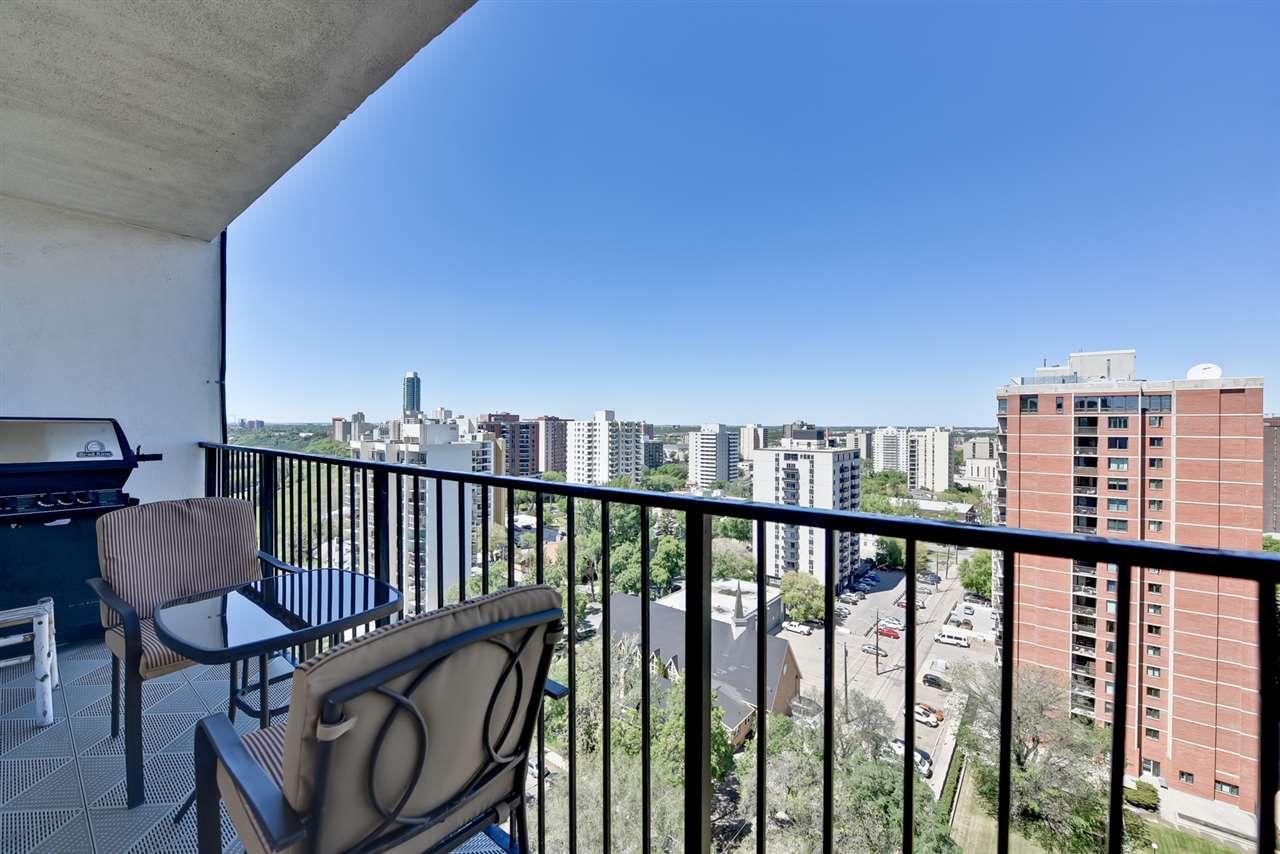 Main Photo: 1605 11307 99 Avenue in Edmonton: Zone 12 Condo for sale : MLS®# E4117226