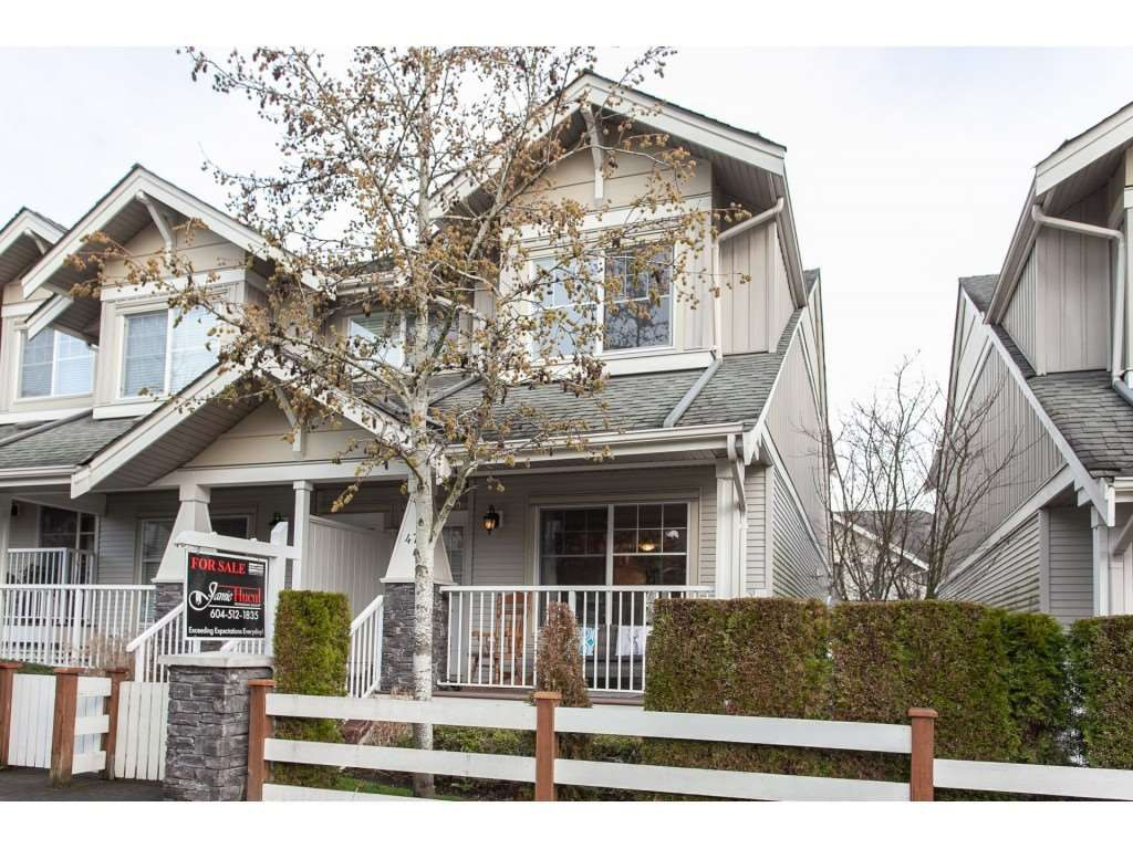 """Main Photo: 47 6568 193B Street in Surrey: Clayton Townhouse for sale in """"Belmont at Southlands"""" (Cloverdale)  : MLS®# R2325442"""
