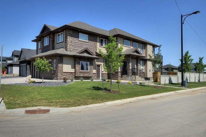 Main Photo: 1254 Adamson Drive in Edmonton: Zone 55 Attached Home for sale : MLS®# E4145978