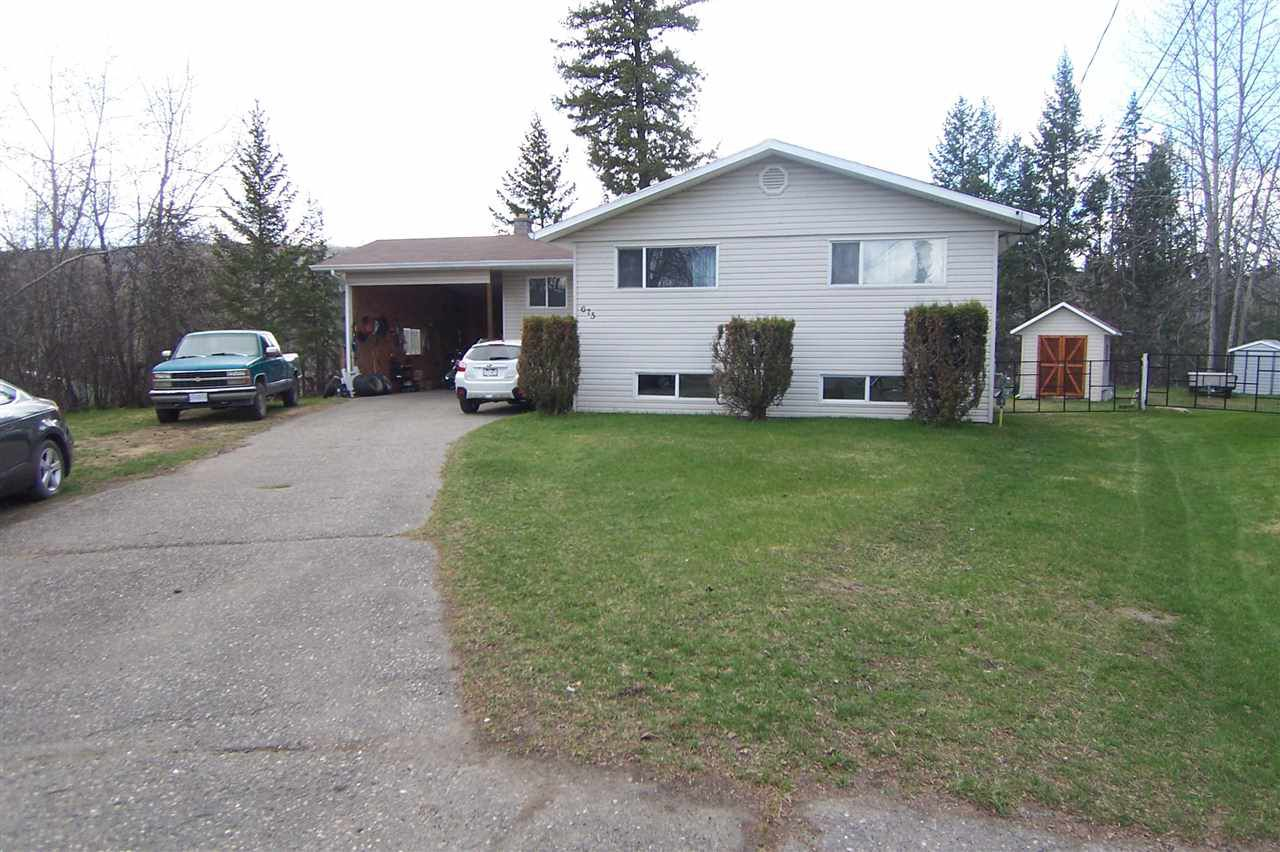 Main Photo: 675 HIGDON Avenue in Quesnel: Quesnel - Town House for sale (Quesnel (Zone 28))  : MLS®# R2362062