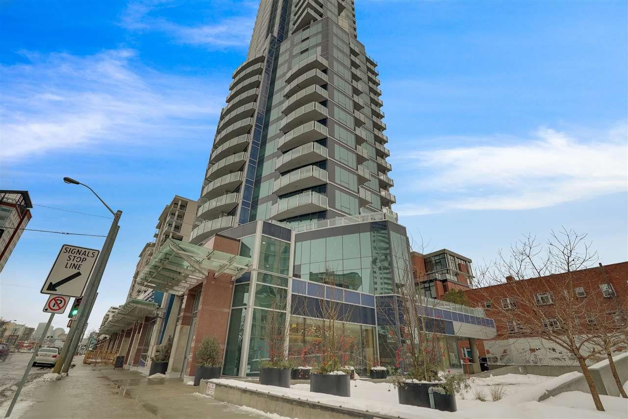 Main Photo: 2604 11969 JASPER Avenue NW in Edmonton: Zone 12 Condo for sale : MLS®# E4154964