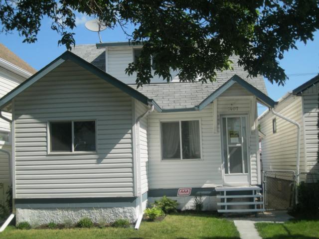 Main Photo: 1407 McDermot Avenue West in WINNIPEG: Brooklands / Weston Residential for sale (West Winnipeg)  : MLS®# 1116555