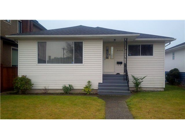 Main Photo: 2450 E 53RD Avenue in Vancouver: Killarney VE House for sale (Vancouver East)  : MLS®# V1042493