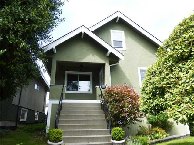 Main Photo: 3475 ADANAC Street in Vancouver: Renfrew VE House for sale (Vancouver East)  : MLS®# V1066128