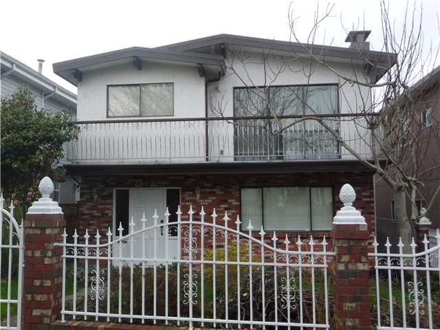 Main Photo: 2987 E 27TH Avenue in Vancouver: Renfrew Heights House for sale (Vancouver East)  : MLS®# V1106735