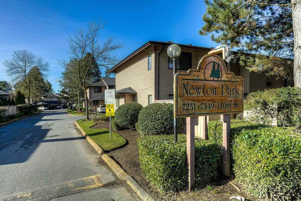 """Main Photo: 118 7341 140 Street in Surrey: East Newton Townhouse for sale in """"NEWTON PARK"""" : MLS®# R2034254"""