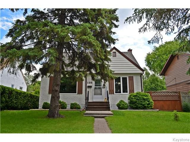 Main Photo: 106 Birchdale Avenue in Winnipeg: St Boniface Residential for sale (South East Winnipeg)  : MLS®# 1616645