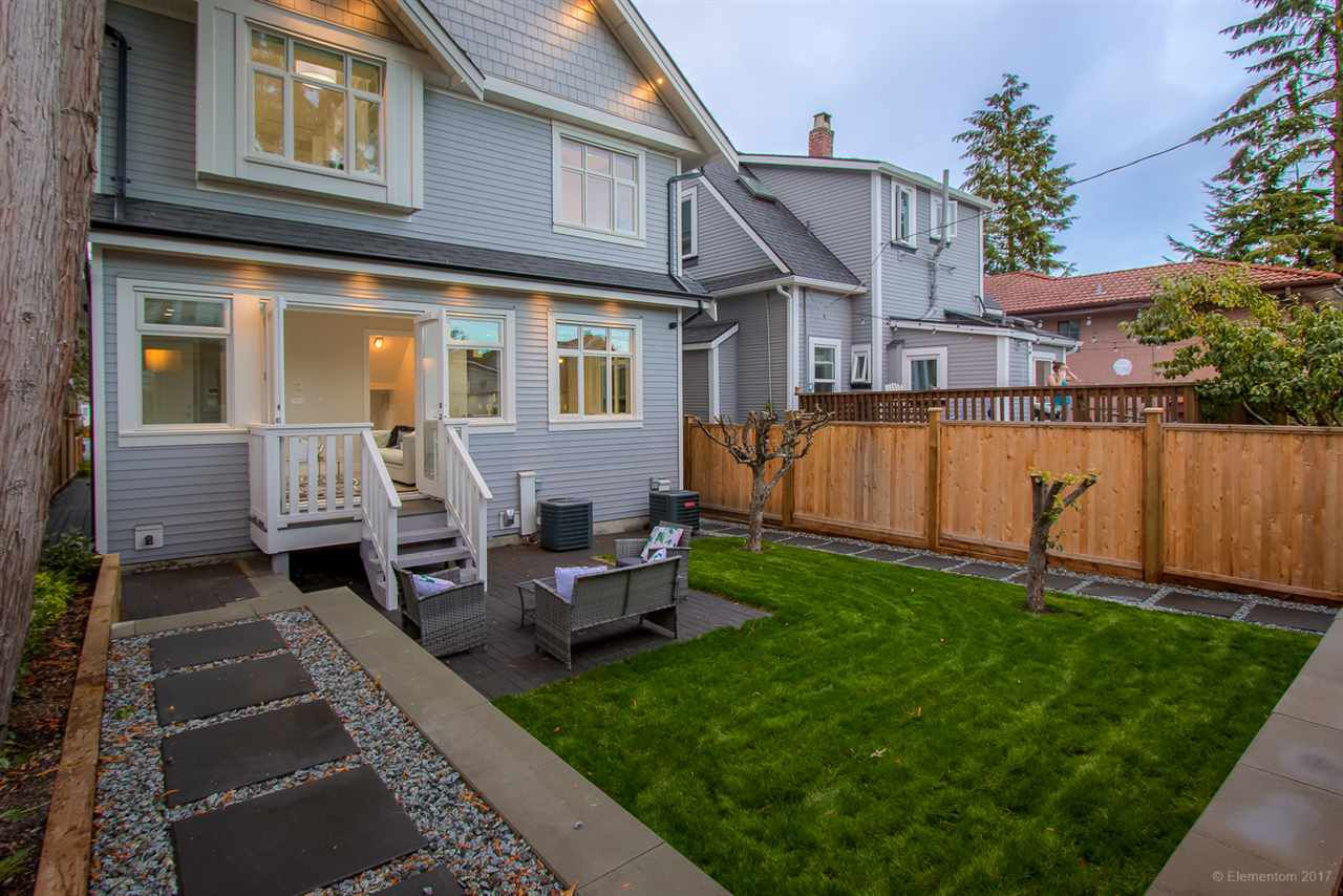 Main Photo: 1346 E 18TH Avenue in Vancouver: Knight House 1/2 Duplex for sale (Vancouver East)  : MLS®# R2214844