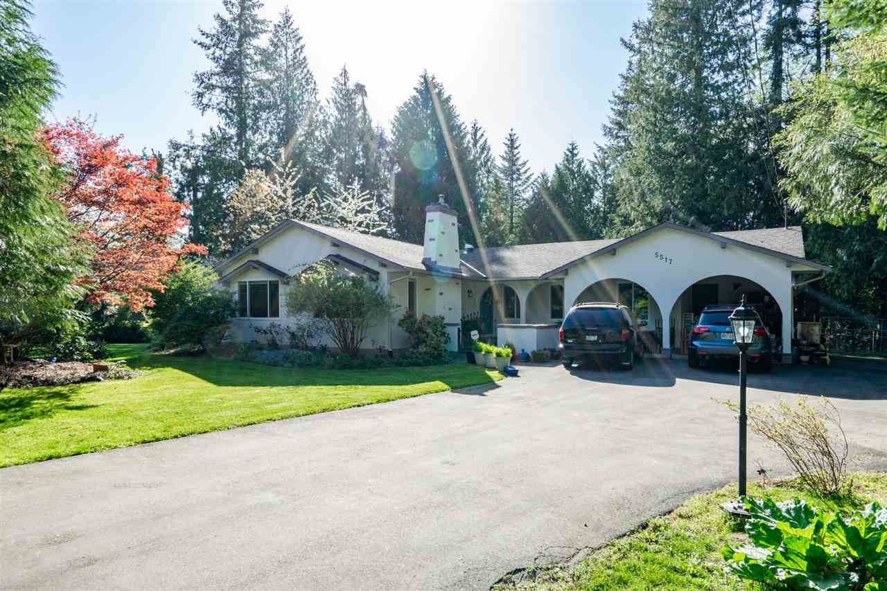 "Main Photo: 5517 245A Street in Langley: Salmon River House for sale in ""Strawberry Hills"" : MLS®# R2261991"