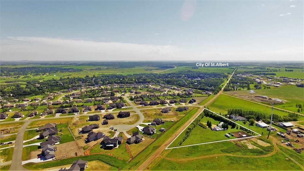 Main Photo: 25128 Coal Mine Road: Rural Sturgeon County Manufactured Home for sale : MLS®# E4119093