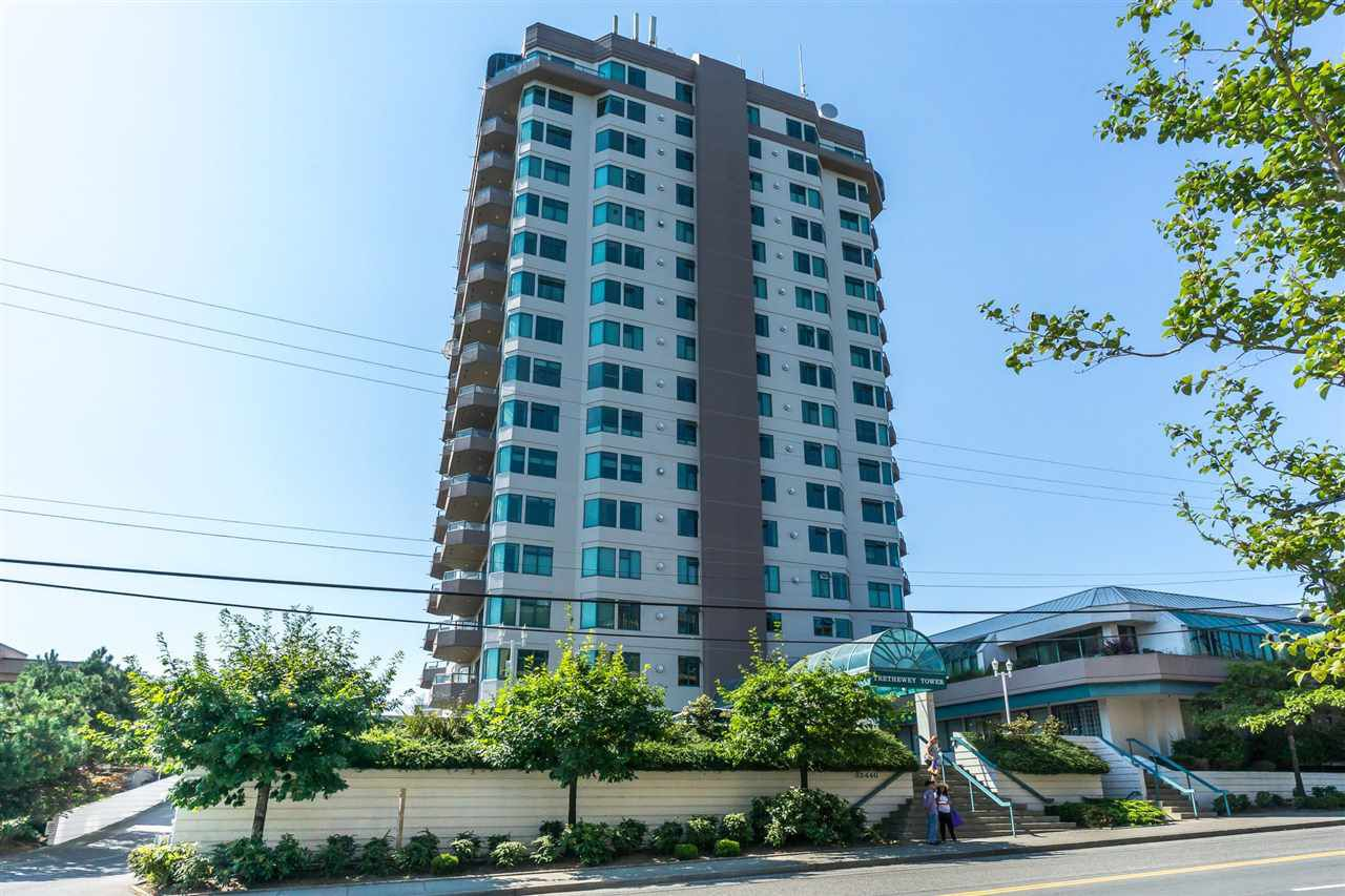 """Main Photo: 803 32440 SIMON Street in Abbotsford: Abbotsford West Condo for sale in """"Trethewey Tower"""" : MLS®# R2316855"""