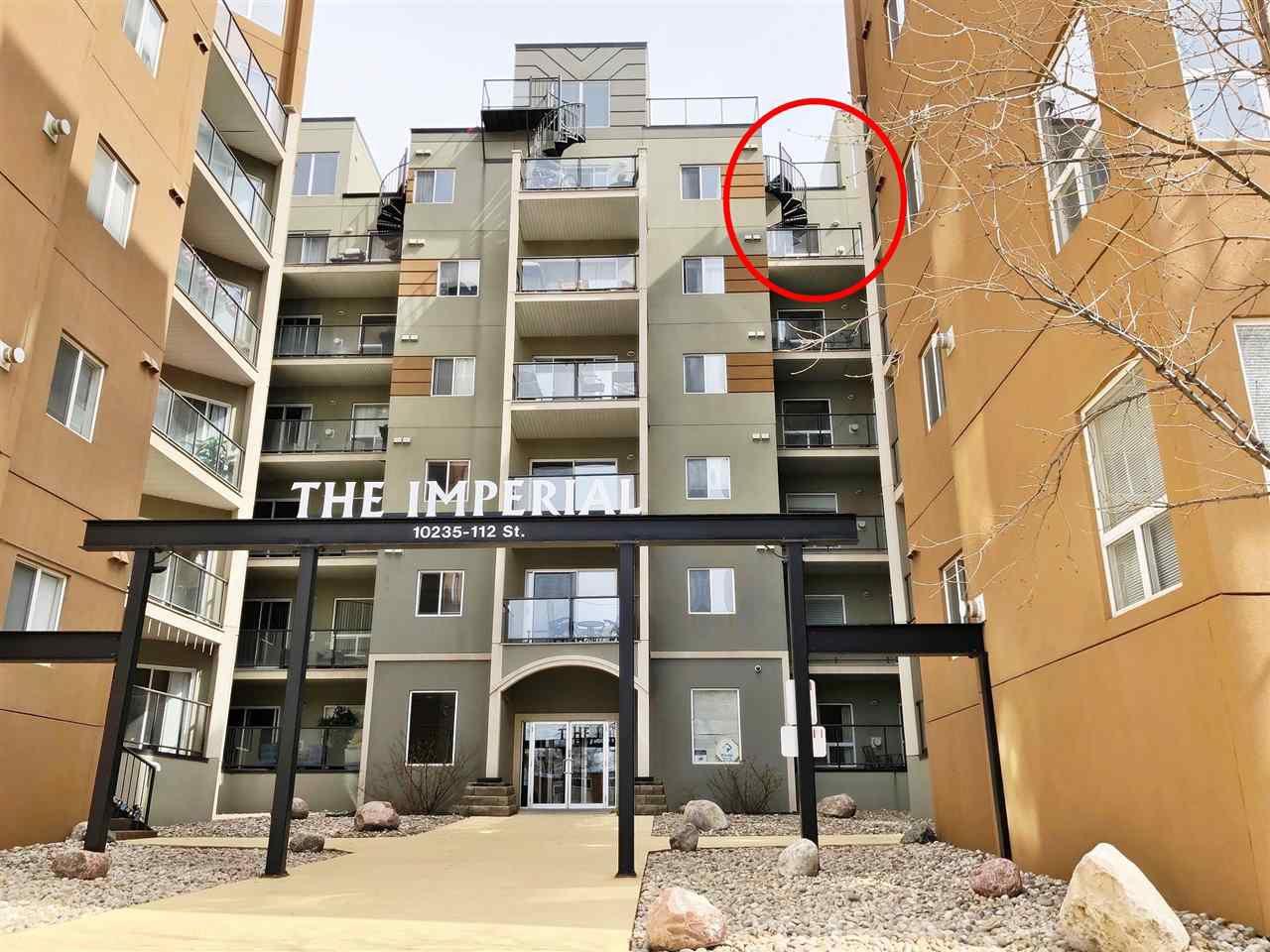 Main Photo: 618 10235 112 Street in Edmonton: Zone 12 Condo for sale : MLS®# E4149814