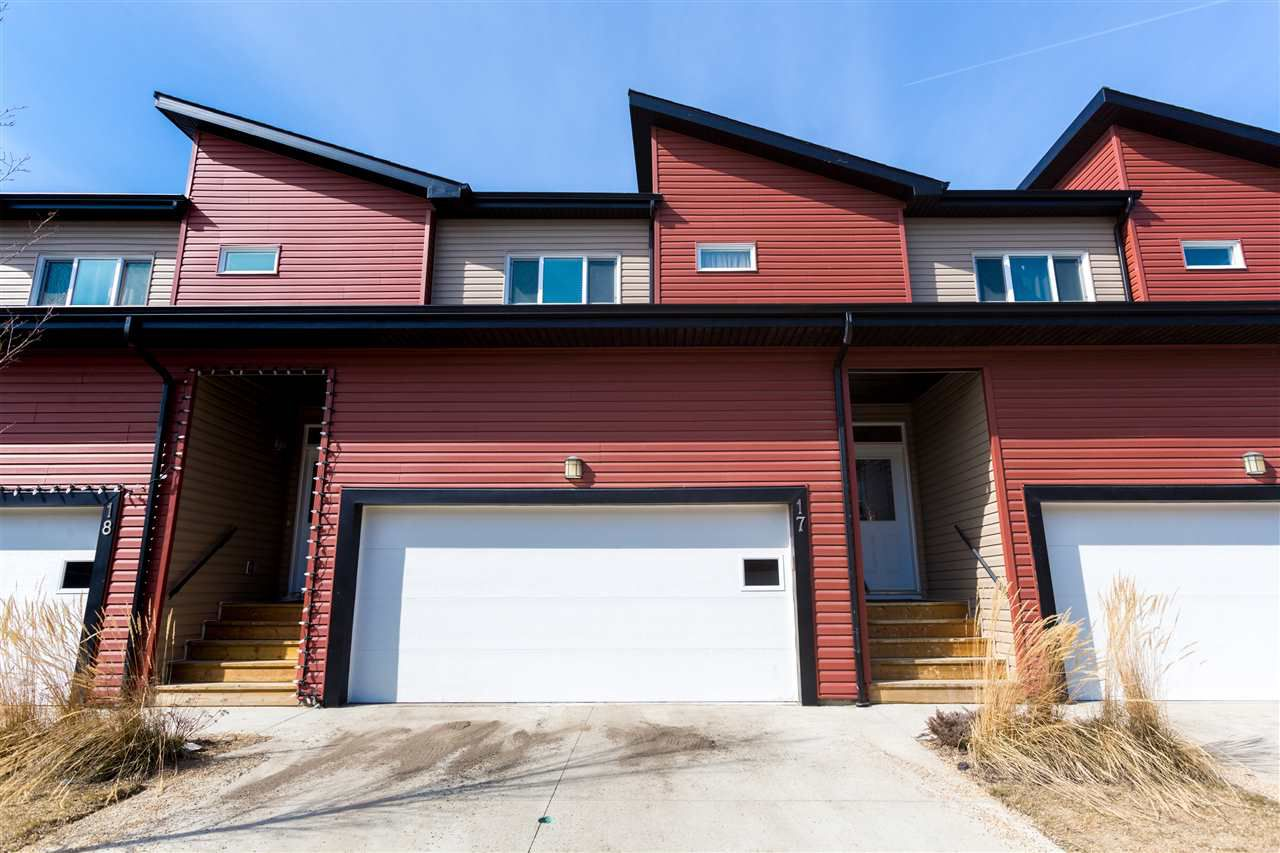 Main Photo: 17 16537 130a Street in Edmonton: Zone 27 Townhouse for sale : MLS®# E4150707
