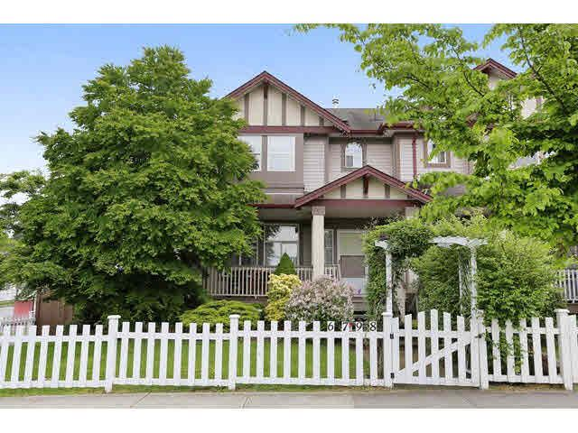 "Main Photo: 6798 184 Street in Surrey: Cloverdale BC House 1/2 Duplex for sale in ""HEARTLAND"" (Cloverdale)  : MLS®# F1440702"