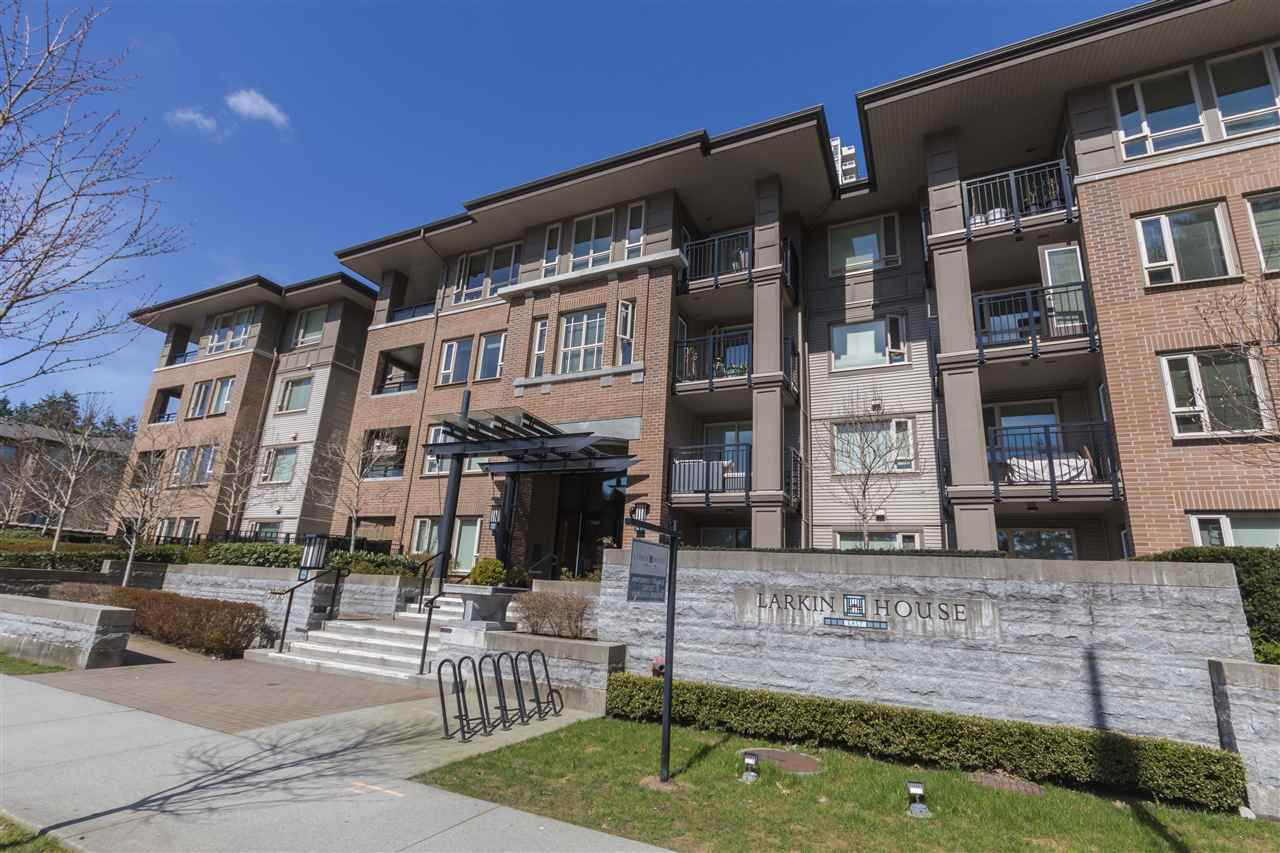"Main Photo: 302 3105 LINCOLN Avenue in Coquitlam: New Horizons Condo for sale in ""WINDSOR GATE BY POLYGON"" : MLS®# R2154112"