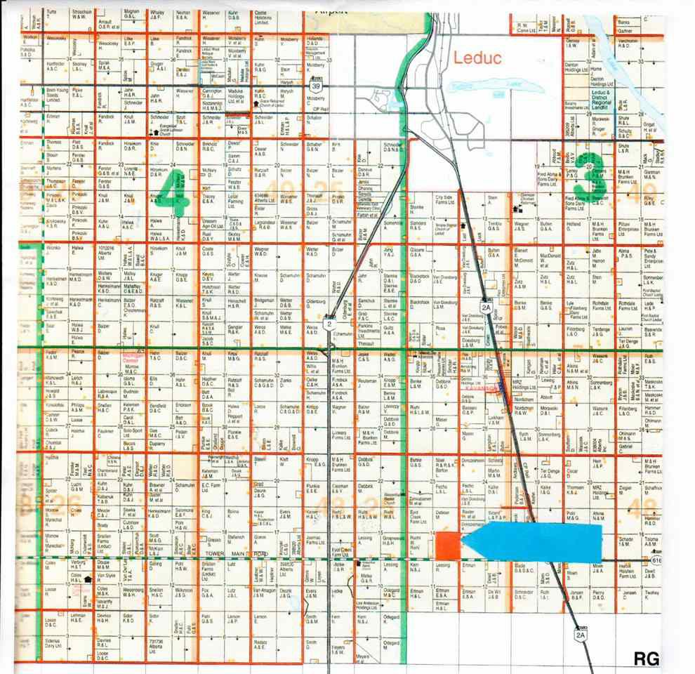 Main Photo: Twp Rd 482 Rng Rd 251: Rural Leduc County Rural Land/Vacant Lot for sale : MLS®# E4060775