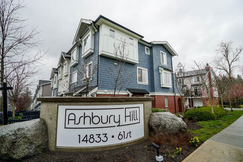 """Main Photo: 103 14833 61 Avenue in Surrey: Sullivan Station Townhouse for sale in """"Ashbury Hill"""" : MLS®# R2250717"""