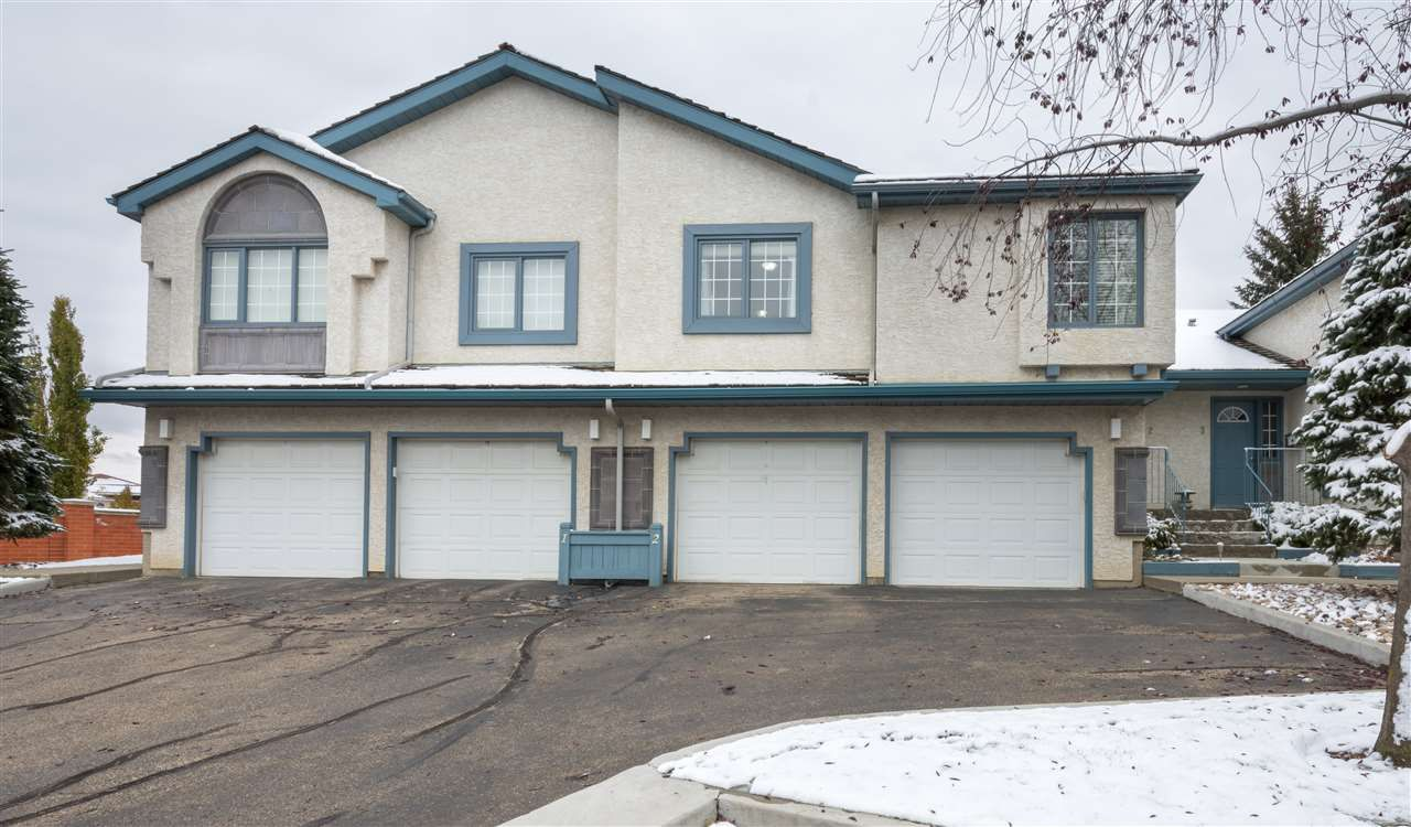 Main Photo: 2 1130 FALCONER Road in Edmonton: Zone 14 Townhouse for sale : MLS®# E4139146