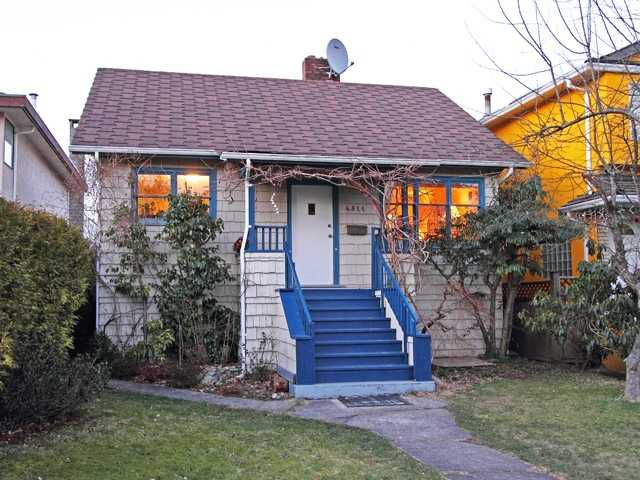 Main Photo: 4311 W 15TH Avenue in Vancouver: Point Grey House for sale (Vancouver West)  : MLS®# V873185