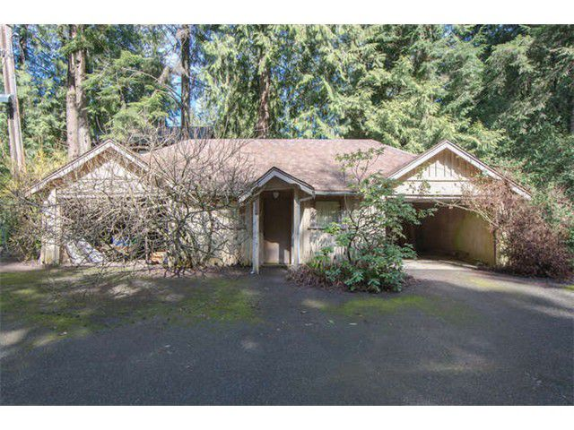 Main Photo: 1787 RIVERSIDE Drive in North Vancouver: Seymour Land for sale : MLS®# V1055554